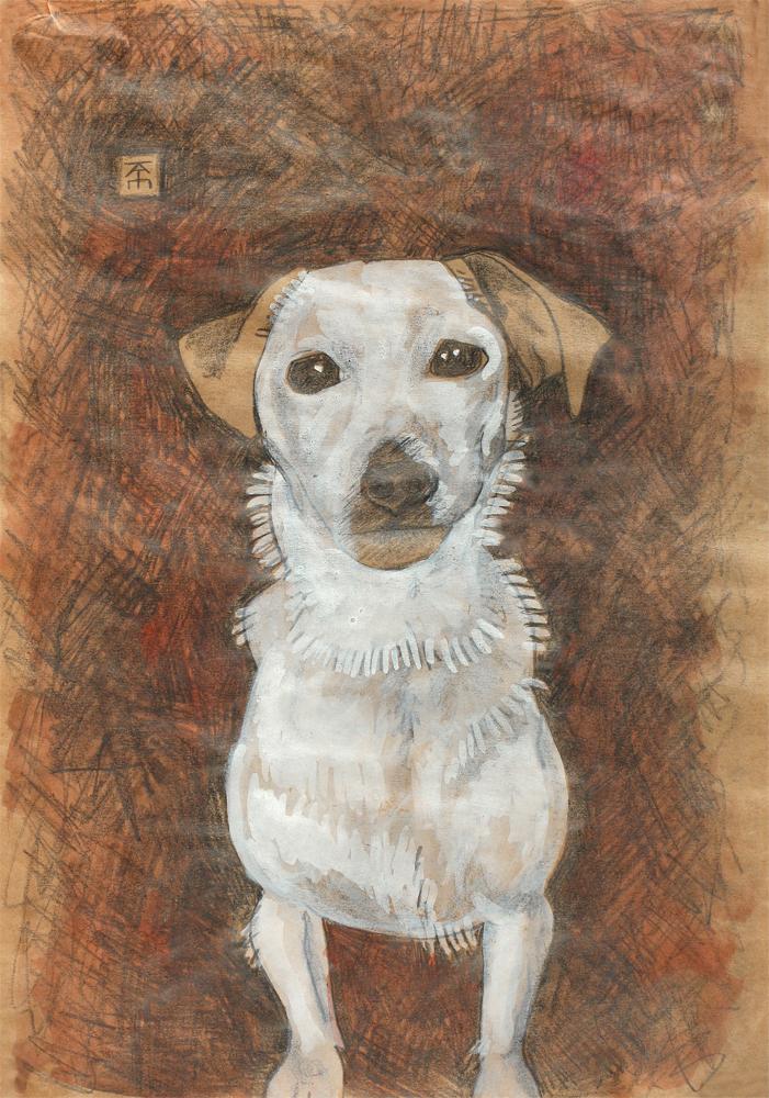dog portraits commission UK